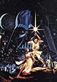 Generic Star Wars Film Foto Poster Vintage Textless Film Kunst A New Hope 007 (A5-A4-A3) - A5