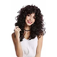 WIG ME UP ® - 0051-P30/P103g Wig Lady Women Halloween Carnival very voluminous Mane curls curly dense black brown mixed