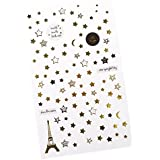 Baoblaze Lots Mixed Romantic Eiffel Tower Stars Stickers Photo Album Decorative Stickers DIY Scrapboking Card Making Gift Wrap Decoration Sticker For Card/Gift Box/Phone Case/Book/Planner