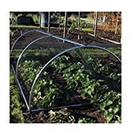 Portable Easy To Move Domed Fruit Vegetable Garden Cage Frame - Various (3m Long)