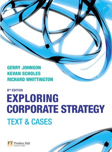 Exploring Corporate Strategy:Text & Cases with Companion Website Student Access Card: Text and Cases