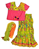 Exclusive From Jaipur Girl's Cotton Lehe...