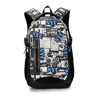 51Zw0ejBk7L. SS324  - Maod adolescentes Lienzo mochilas escolares Impresión Bolso de Escuela Mujer Impermeable mochila portatil 16 Pulgada