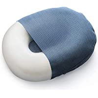 Milliard Foam Donut Pillow Orthopedic Ring Seat Cushion with Removable Cover, For Hemorrhoid, Coccyx, Sciatic Nerve, Pregnancy and Tailbone Pain - Large, 50cm x 38cm