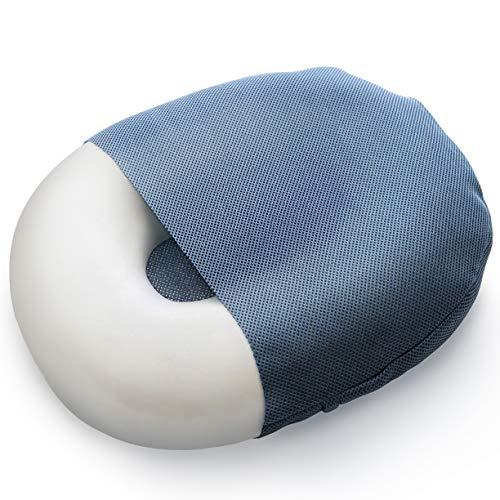 Milliard Schaumstoff-Donutkissen, orthopädischer Ring, Sitzkissen mit abnehmbarem Bezug, für Hämorrhoiden, Steißbeinbeschwerden, Hüftnervprobleme und zur Schwangerschaft, groß, 50cm x 38cm (Office-möbel Medical)
