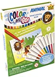 Travel Coloring Book - ANIMAL - Color And Go