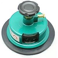 Jian Ya Na 100 Sqcm Ronda Muestra cortador redondo de cartón Textiles Muestra de alfombra cortador de prueba Applycation peso, Verde verde