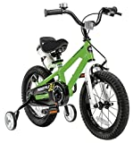 RoyalBaby BMX Freestyle Kids bike for Boys and Girls, 12-14-16-18 inch with Training