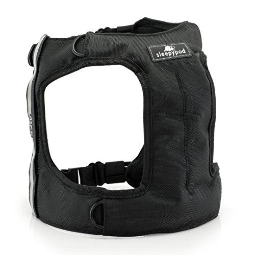 Sleepypod Clickit TERRAIN Auto-Sicherheitsgurt Sicherheitsgurtgeschirr für Hunde (S, Jet Black)