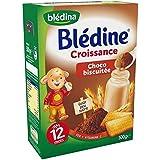 Blédina blédine croissance céréales saveur choco biscuitée 500g dès 12 mois - ( Prix Unitaire ) - Envoi Rapide...