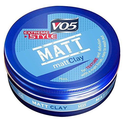 Vo5 Extreme Style (VO5 Extreme Style Matte Clay (75ml) - Pack of 2 by VO5)