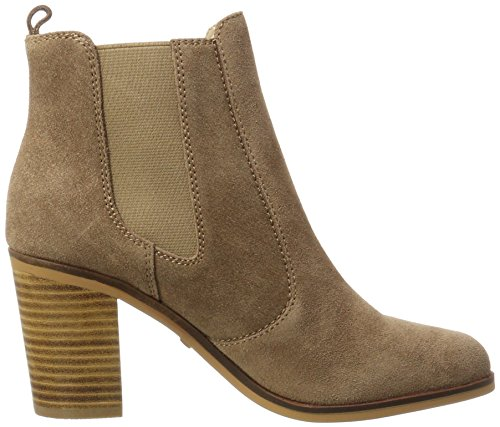 Buffalo London 416-7044 Cow Suede, Stivali Chelsea Donna Marrone (Tan 01)