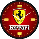 Regent Ferrari red Wall Clock
