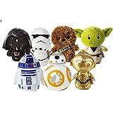 Hallmark Star Wars Itty Bitty Set of 7 Soft Toys