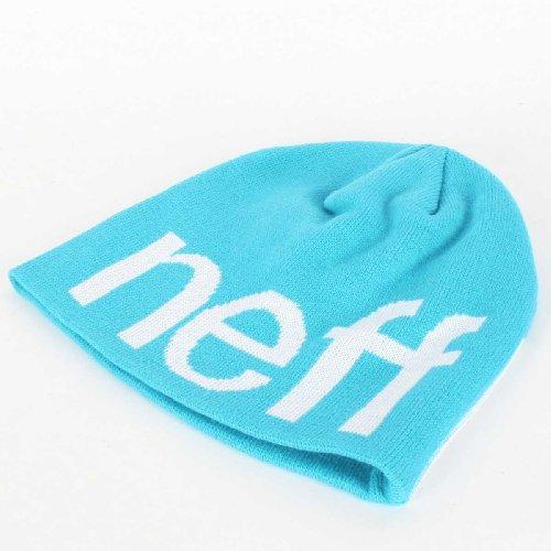 Neff Happy Beanie Dans Cyan / Blanc Cyan/White