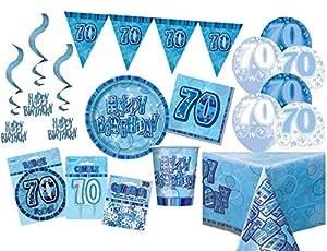 Unique Party Party Kit Color azul 63771
