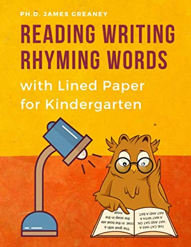 ing Words with Lined Paper for Kindergarten: Easy learning Rhyme books with Sight, CVC word cards educational games. Improve ... for kids Toddlers, Preschoolers to 1st Grade. ()