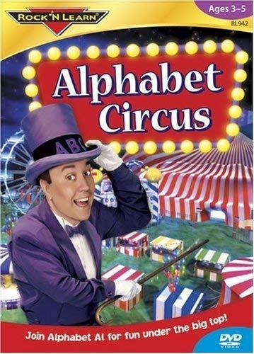 Preisvergleich Produktbild ROCK N LEARN RL-942 Alphabet Circus auf DVD