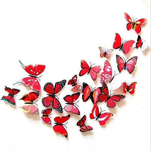 buluke-simulazione-del-colore-butterfly-parete-arredamento-pasta-pasta-di-frigorifero-rosso