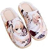 Cosstars Yosuga no Sora Anime Anti-Rutsch Weich Warm Zuhause Hausschuhe Niedlich Plüsch Innen Schuhe