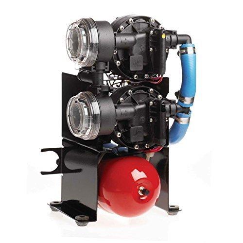 Johnson Pumps 10–13409–01Aqua Jet Duo WPS 10.4Water Pressure Pump System, 12V By Johnson Pumps