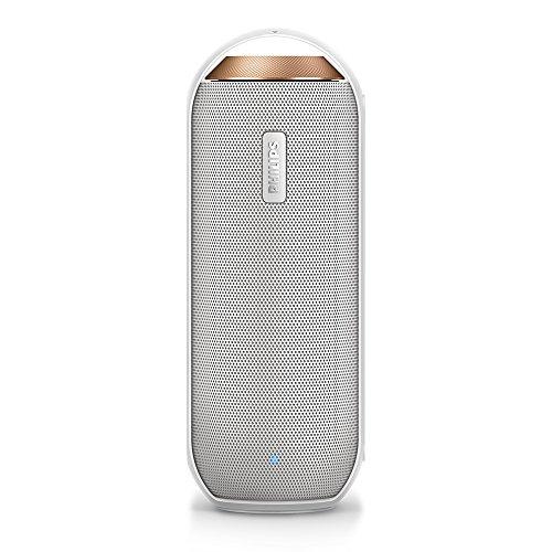 Philips BT6000W/37 Splash-proof Wireless Portable Speaker (White)