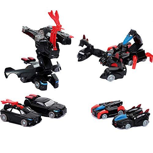 eugauto-Modellspielzeugroboter-Jungenmodellspielzeugspielzeug geeignet für 3-8-jährige Kinder, die Konjac + Donner Spielen ()