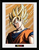 GB Eye Dragon Ball Z Goku Print Frame, mehrfarbig, 30x 40cm