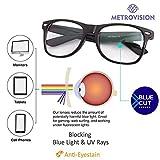 Best Computer Glasses - Blue Ray Cut UV420 unisex Wayfarer Spectacle Eye Review