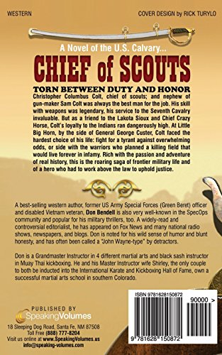 Chief of Scouts: Volume 1 (Colt Family)