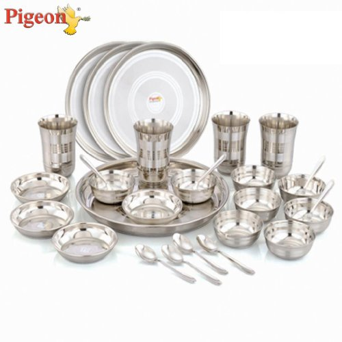 Pigeon Lunch Set, 28-Pieces  available at amazon for Rs.1323
