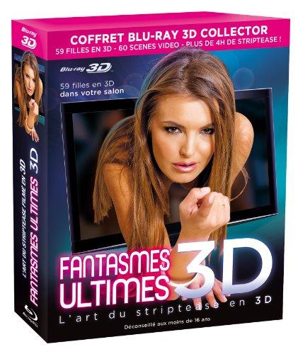 Preisvergleich Produktbild Coffret fantasmes ultimes 3D : bimbo 3D ; pin up 3D ; seduction 3D [Blu-ray] [FR Import]