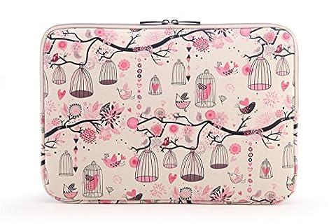 AreTop® Housse Sacoche pour iPad Tablet Ordinateur Portable Plusieurs Patterns et Tailles (12 pouces, Hommage à la Liberté