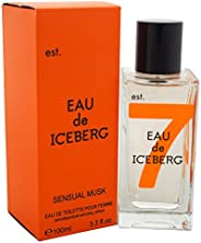 Iceberg Eau de Iceberg Sensual Musk for Women 100ml Eau de Toilette, 10077498