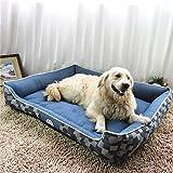 Il pet-SAN Cat / Dog Bed Pet tappetini e tamponi di tessuto morbido blu , l