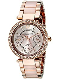 Michael Kors Analog Rose Gold Dial Women's Watch-MK6110