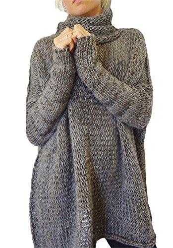 Camisunny -  Maglia a manica lunga  - Basic - Maniche lunghe  - Donna Dark Grey