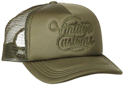 JACK & JONES VINTAGE Herren Baseball Cap Jjvvintage Snap Back, Mehrfarbig (Olive Night Detail:One Size-Solid), One size