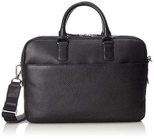 Ecco Ecco Jos Laptop Bag 13inch, Sacs pour ordinateur portable homme, Schwarz (Black), 7x27x37 cm (L x H P)