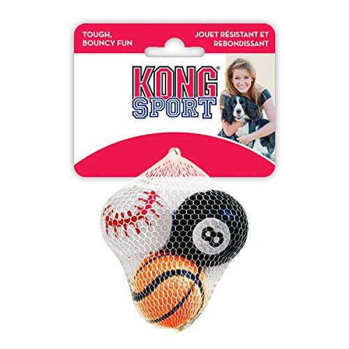 Fußball-billard-kugeln (Kong Sport Bälle, Hundespielzeug, klein (3 Stück))
