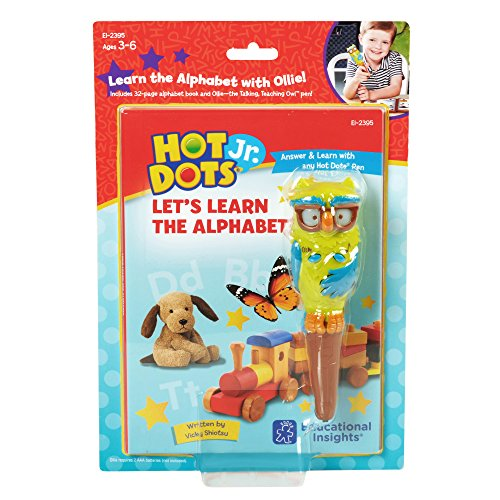 Educational Einblicke Hot Dots Jr. Let 's Learn the Alphabet Interaktives Book & Pen Set