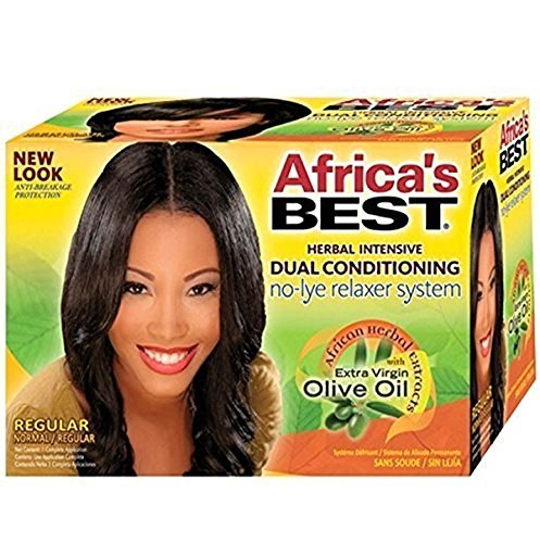 Africa's Best Dual Conditioning No-Lye Relaxer System Regular by Africa's Best