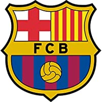 Sticker Logo Football Barcelona 10cm