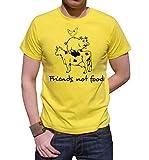 T-shirt Friends not food funny, divertimento,humor, tutte le taglie uomo donna maglietta by tshirteria