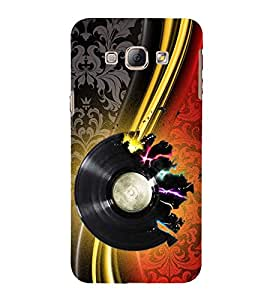 Print Masti Designer Back Case Cover for Samsung Galaxy A5 (2015) :: Samsung Galaxy A5 Duos (2015) :: Samsung Galaxy A5 A500F A500Fu A500M A500Y A500Yz A500F1/A500K/A500S A500Fq A500F/Ds A500G/Ds A500H/Ds A500M/Ds A5000 (Vintage Background Treble Clef sound)