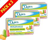 Quies - Protection Auditive - Foam Earplugs 35dB - Pack of 3 x 6 Pairs by Quies immagine