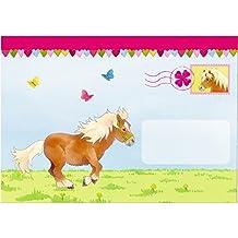 """Die Spiegelburg 14114, Festa, compleanno - inviti cartacei personalizzati - motivo: """"Mio mini pony"""" - 8 pz"""