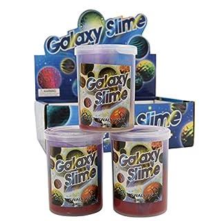 Giftworks A Case of 12 Rainbow Galaxy Goo Slime