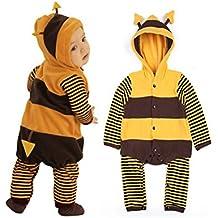 Disfraz de mariquita o abeja para bebé, forro polar, 5-24 meses Bee Outfit Talla:9-12 meses