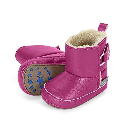 Sterntaler Schuh, Chaussons pour enfant bébé fille Pink (Dahlie 766)